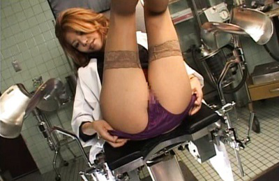 Akane hotaru. Excited Akane in the operation room rubbing her clitoris in ecstacy