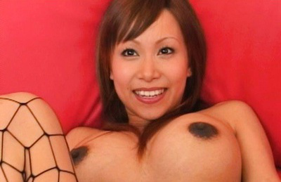 Japanese av model. Horny AV Model elated as he runs his finger