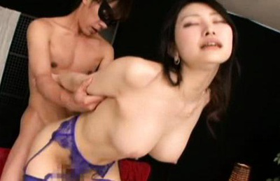 Azumi mizushima. Hot Azumi Mizushima was have intercourse from behind by a man in the mask