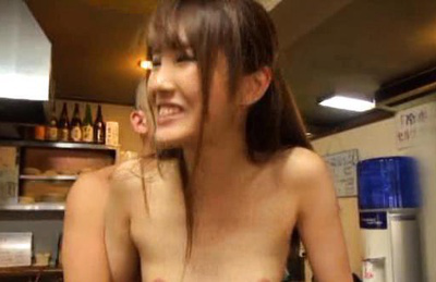 Japanese av model. Amazing Av model loves it as she gets her nipples licked