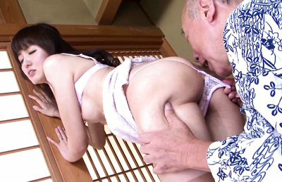 Yui igawa. Sophisticated Yui Igawa fuck with old Japanese banger