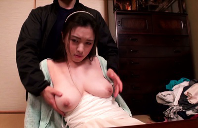 Miho yukino. Boobilicios MIho in delight as she gets her great tits caressed