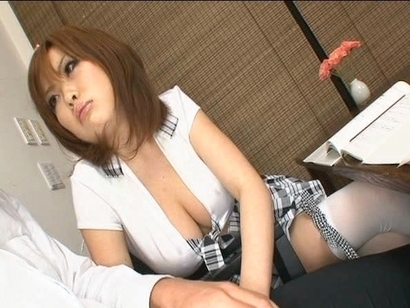 Rio Hamasaki sucks thick dick and loves feeling his warmth deep in her throat