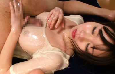 Aika yumeno. Wet Aika Yumeno takes a dick and rubs it with her hands