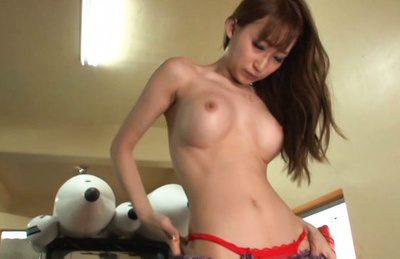 Claire hasumi. Claire Hasumi Asian with firm jugs and hot bottom blowjob phallus