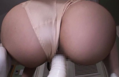 Japanese av model. Unstoppable AV Model rides toy to get orgasms this dark night