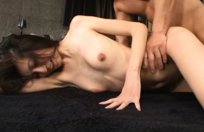 Ren aizawa. Ren Aizawa Asian screams with more inch of cock she gets in twat