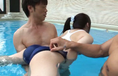 Misaki honda. Misaki Honda Asian has crack aroused with dildo in water