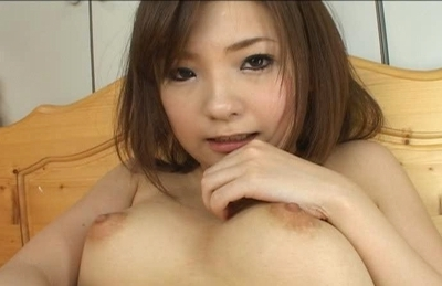 Mika Sonohara Hot Asian model shows shaved pussy