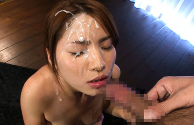 Nanami sakura. Appealing Nanami Sakura facialized excitingly after amazing sucks
