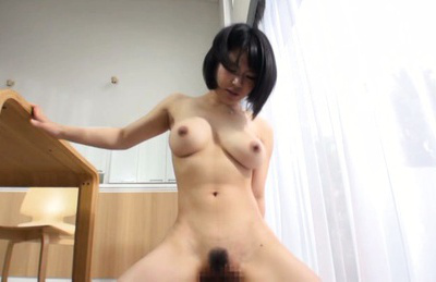 Kazari hanasaki. Hot Kazari Hanasaki penetrate from behind in her hairy vagina