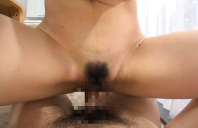 Kazari hanasaki. Hot Kazari Hanasaki rides cock like a crazy with her hairy cunt