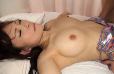 Japanese av model. Japanese AV Model with round and firm boobs gets cumshot on mouth