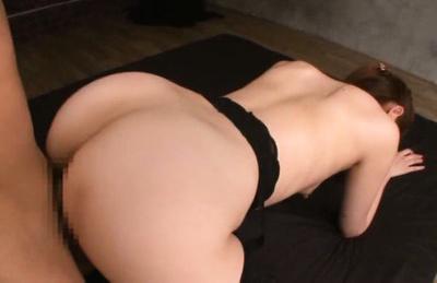 Asami ogawa. Exciting Asami Ogawa doggystyled in hot stockings