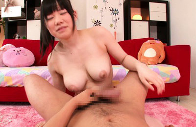 Nene wakana. Sweet Nene Wakana is blow this nice cock and getting cumshot