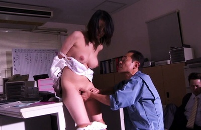 Asuka. Asuka Asian doll has anal cheeks spread and