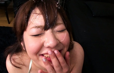 Ran niiyama. Ran Niiyama Asian cock sucking and licks cock till