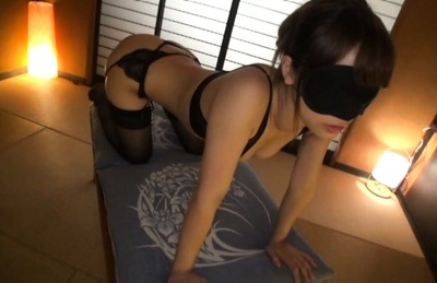 Kokomi sakura. Kokomi Sakura Asian doll blindfolded exposes