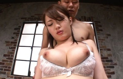Eri hosaka. Eri Hosaka Asian has voluminous cans fondled over