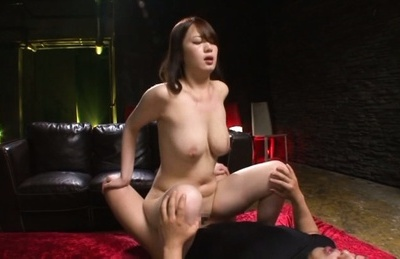 Eri hosaka. Eri Hosaka Asian with large cans loves penis
