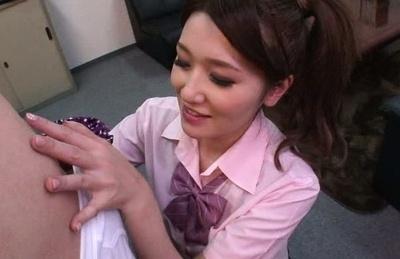 Mona takei. Mona Takei Asian in uniform licks fellow