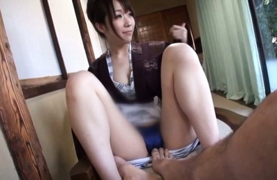 Amateur. Amateur Asian chick has vagina touched with