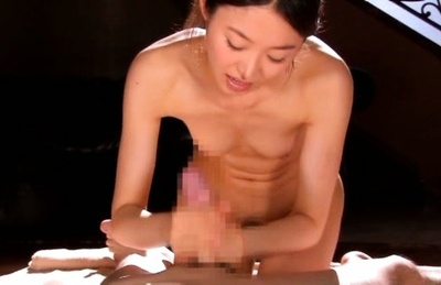 Iroha natsume. Iroha Natsume Asian with nasty boobies rubs cock with both hands
