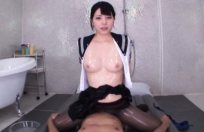 Ai uehara. Ai Uehara Asian with oiled round tits rides