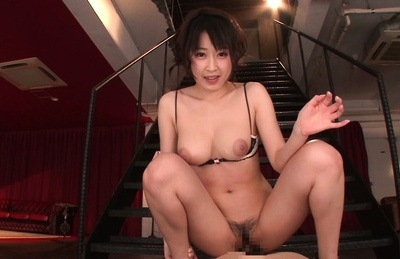 Arisa misato. Arisa Misato Asian takes bra and thong away to
