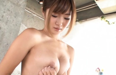 Maya kawamura. Maya Kawamura Asian with soaped anal has jugs