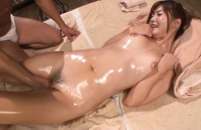 Maya kawamura. Maya Kawamura Asian with lascivious oiled body gets finger in dark vagina